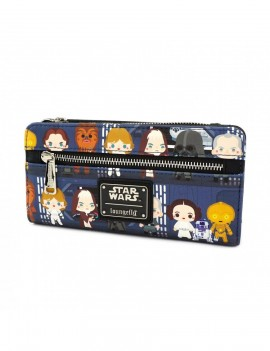 Star Wars by Loungefly Wallet Chibi Characters