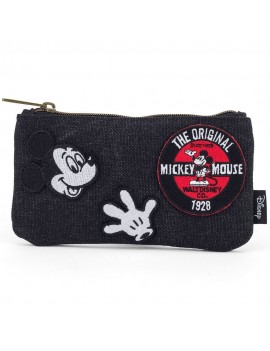 Disney by Loungefly Coin/Cosmetic Bag Mickey Patches