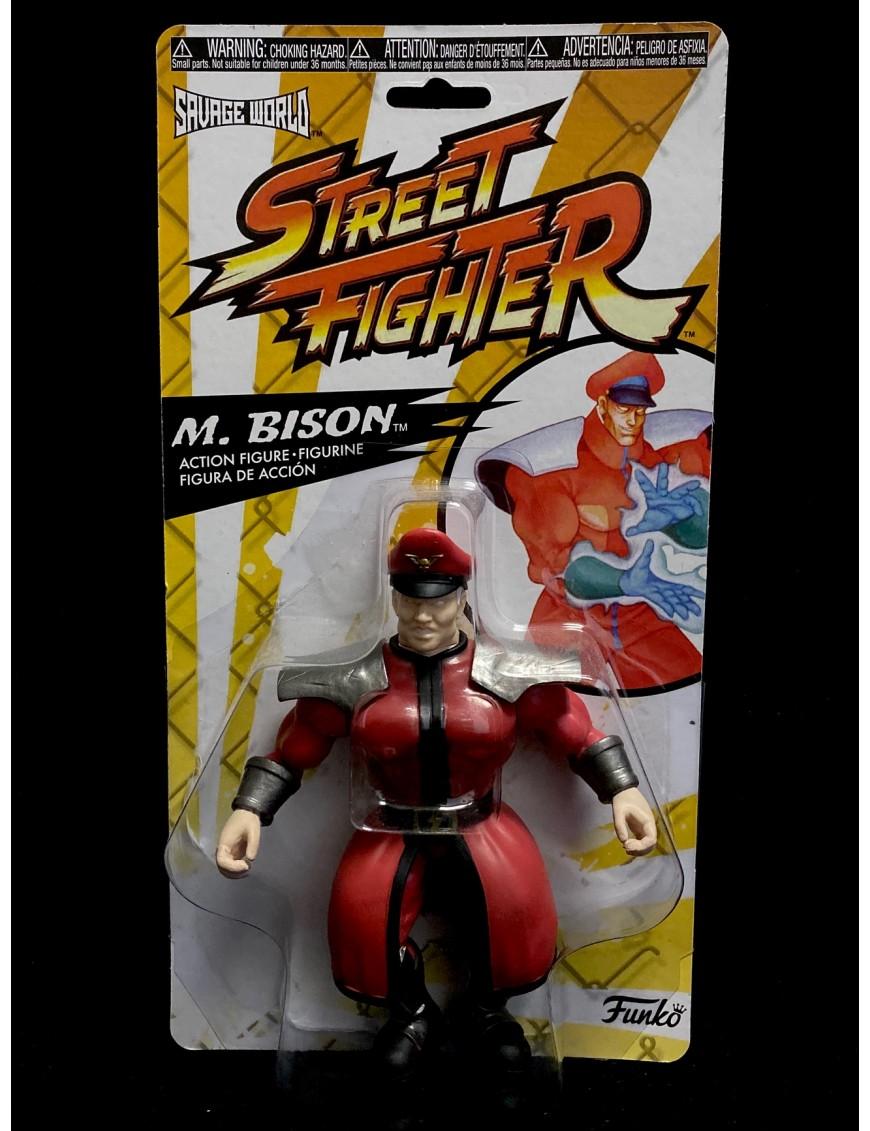 Bison Funko Savage World Street Fighter Action Figure M Film