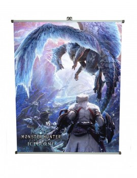 Monster Hunter: World Wallscroll Iceborne 60 x 71 cm