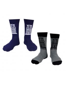 Doctor Who Mens Socks 2-Pack Dalek