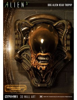 Alien 3 3D Wall Art Dog Alien Closed Mouth Ver. 58 cm