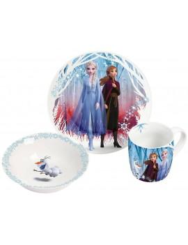 Frozen 2 Breakfast Set Elsa & Anna