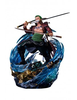 One Piece Log Collection Statue Roronoa Zoro 50 cm