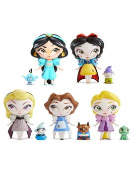 Disney Vinyl Statues Set Miss Mindy Princess Series 18 cm