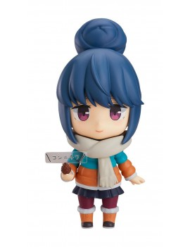 Laid-Back Camp Action Figure Rin Shima DX Ver. 10 cm