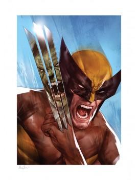 Marvel Art Print The Incredible Hulk vs Wolverine by Ben Oliver 46 x 61 cm - unframed
