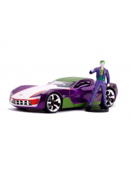 DC Comics Diecast Model 1/24 2009 Chevy Corvette Stingray with Figure