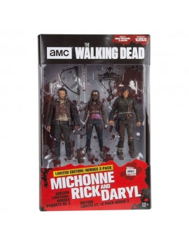 The Walking Dead TV Version Action Figure 3-pack Heroes 13 cm