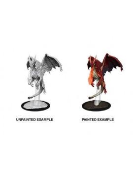 D&D Nolzur's Marvelous Miniatures Unpainted Miniatures Young Red Dragon Case (6)