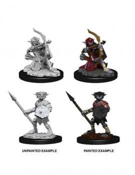 Pathfinder Battles Deep Cuts Unpainted Miniatures Hobgoblin Case (6)