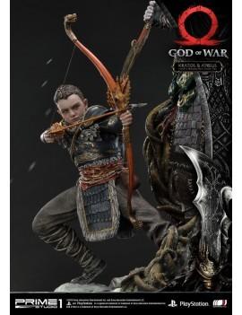 God Of War 2018 Statue Kratos Atreus 72 Cm