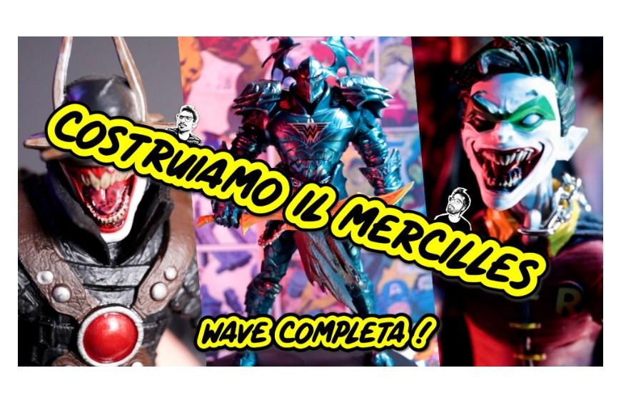 DC MULTIVERSE DARK NIGHTS METAL COSTRUIAMO IL MERCILLES WAVE COMPLETA