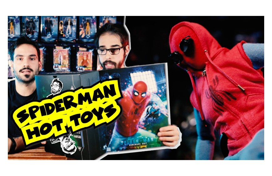 SPIDERMAN FAR FROM HOME HOT TOYS HOMEMADE SUIT