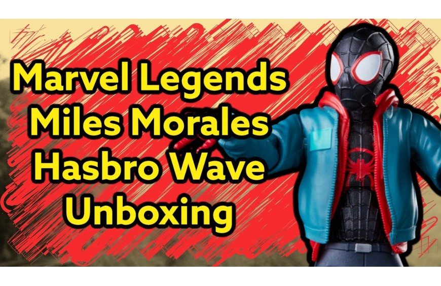 SPIDER-MAN MILES MORALES UNBOXING HASBRO