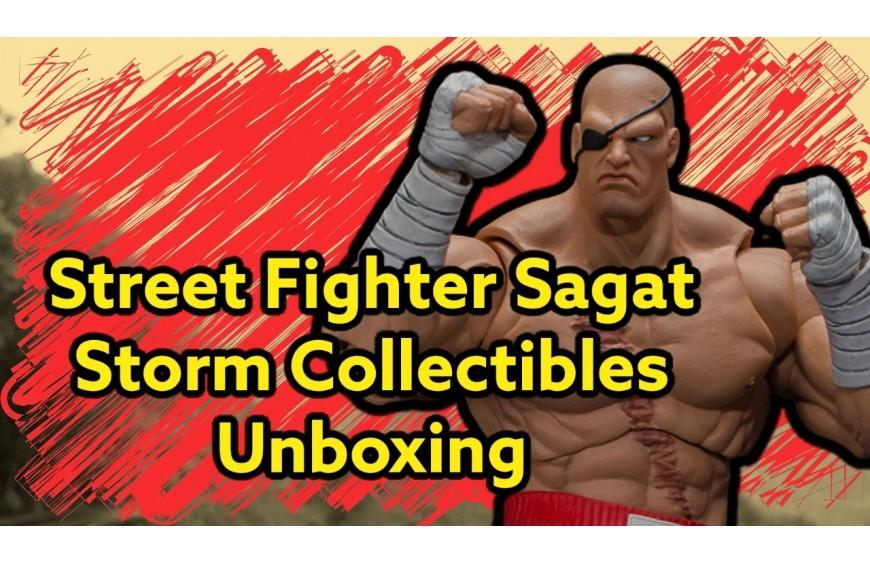 SAGAT STREET FIGHTER STORM COLLECTIBLES FIGURE