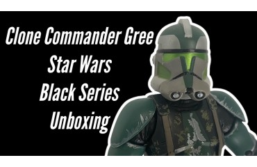 Star Wars Black Series Clone Commander Gree Action Figure