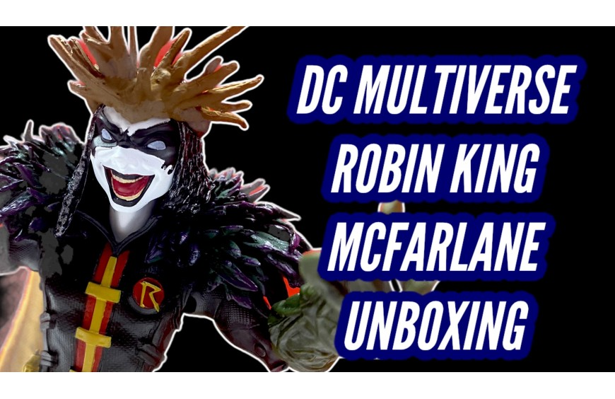 Dc Multiverse Action Figure Robin King